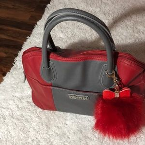 Red Kenneth Cole bag
